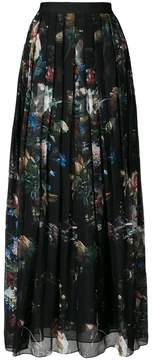 ADAM by Adam Lippes floral print pleated skirt