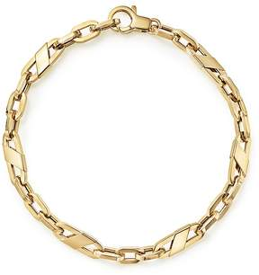 Bloomingdale's Men's Oval Link Bracelet in 14K Yellow Gold - 100% Exclusive