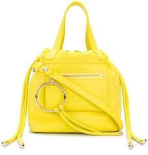 Versace embossed logo mini bag