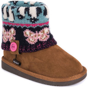 Muk Luks Patti Girls Boots - Little Kids