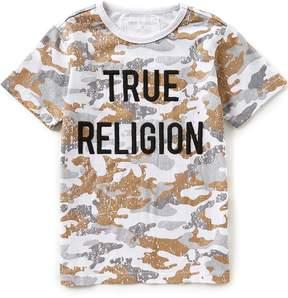 True Religion Big Boys 8-20 Short-Sleeve Rustic Metallic Camouflage Tee
