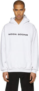 Noon Goons White Reap What You Sow Hoodie