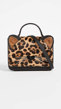 Kate Spade Leopard Mini Janine Cross Body Bag