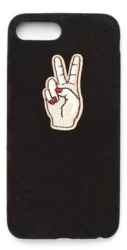 Nasty Gal nastygal Peace Out iPhone 6/7/6+/7+ Case