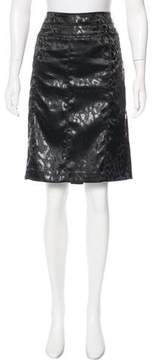 Alberto Makali Printed Knee-Length Skirt