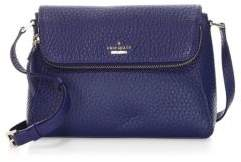 Kate Spade Carter Street Berrin Leather Shoulder Bag - BLUE RIDGE - STYLE