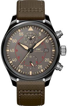 IWC Iw389002 pilot top gun ceramic watch