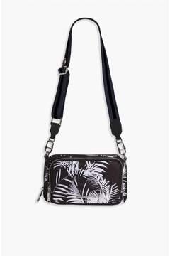Sonia Rykiel | Forever Nylon Palm Print Reporter Bag