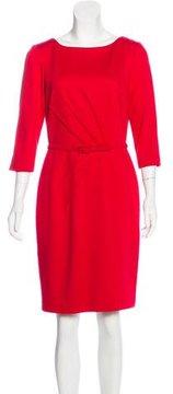 David Meister Sheath Knee-Length Dress