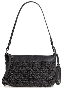 Tommy Bahama Can Can Convertible Leather Crossbody Bag - Black
