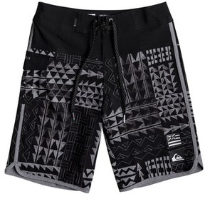 Quiksilver Boy's Hawaii Scallop Board Shorts