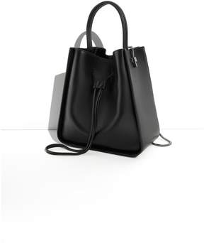 3.1 Phillip Lim Black Soleil Small Bucket Bag