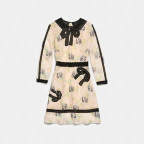 Coach New YorkCoach Embroidered Prairie Dog Rose Dress