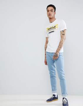 Barbour International Union T-shirt in White