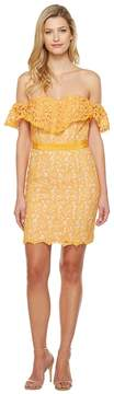 Adelyn Rae Maddie Woven Lace Tube Dress Women's Dress