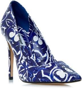 Dune London BLUE - BLUE Tile Print Pointed Toe Pump