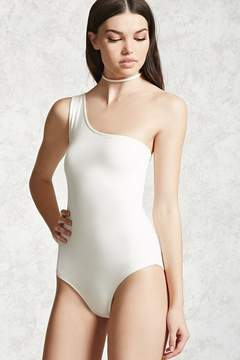 Forever 21 One-Shoulder Bodysuit