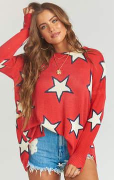 Show Me Your Mumu Bonfire Sweater ~ Stargazer Knit