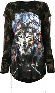 Balmain Wolf longsleeved T-shirt