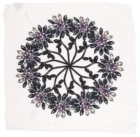 Sonia Rykiel Silk Floral Scarf