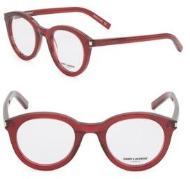 Saint Laurent 48MM, Rounded Optical Glasses