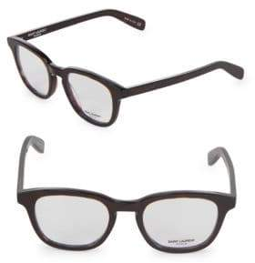 Saint Laurent 49MM Square Optical Glasses