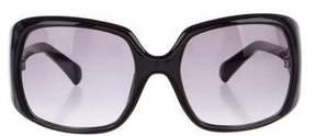 Emilio Pucci Crystal-Embellished Oversize Sunglasses
