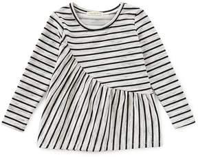 Copper Key Little Girls 2T-6X Long-Sleeve Stripe Knit Top