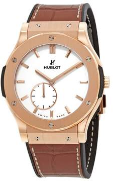 Hublot Classic Fusion Classico Ultra Thin White Dial Men's Watch