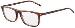 Saint Laurent Plastic Rectangle Optical Glasses
