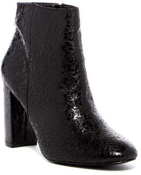 Kensie Leopolda Textured Block Heel Boot