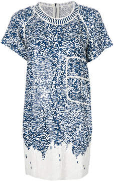 Aviu sequinned mini dress