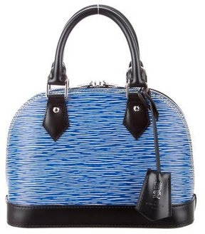 Louis Vuitton 2016 Epi Alma BB w/ Tags - BLUE - STYLE