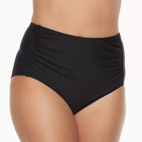 N. Women's Solid High-Waisted Body Sculptor Brief Bottoms