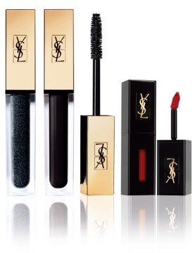 Saint Laurent Vinyl Mascara & Lip Set - No Color