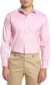 Lorenzo Uomo Trim Fit Oxford Dress Shirt