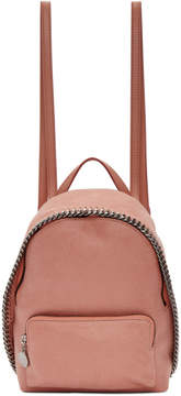Stella McCartney Pink Small Falabella Backpack