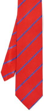 J.Mclaughlin Italian Silk Tie in Bold Stripe