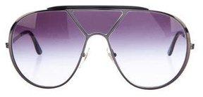 Stella McCartney Oversize Aviator Sunglasses