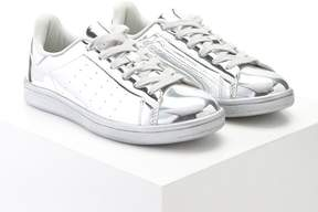 Forever 21 Metallic Lace-Up Sneakers