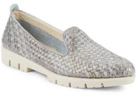 The Flexx Smokin Hot Too Woven Leather Loafers
