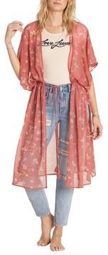 Billabong Women's Bilabong Calley'S Sea Floral Kimono