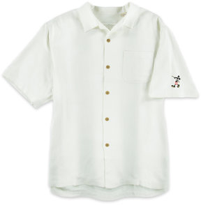 Disney Mickey Mouse Woven Shirt for Men by Tommy Bahama - White