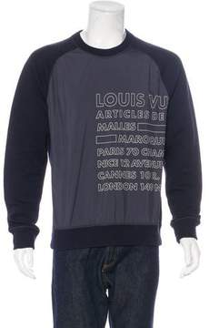 Louis Vuitton Graphic Sweatshirt
