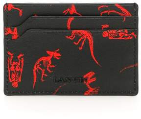 Lanvin Dinosaur Print Cardholder
