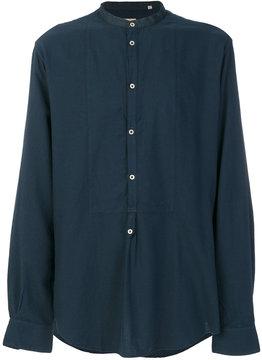 Massimo Alba shirt with mandarin collar