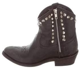 Ash Stud-Embellished Ankle Boots