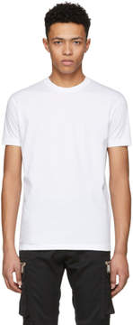 DSQUARED2 White Dyed Chic Dan T-Shirt