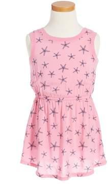 Splendid Starfish Print Dress (Toddler Girls)