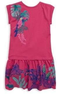 Catimini Little Girl's & Girl's Parrot T-Shirt Dress